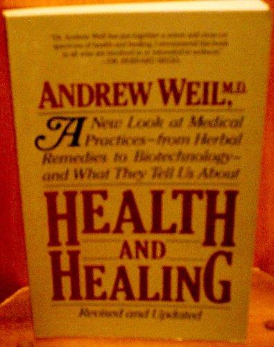 9780395362006: Health and Healing