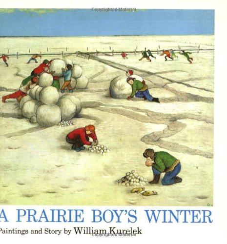 9780395366097: A Prairie Boy's Winter
