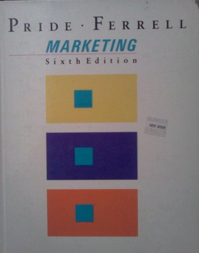 9780395369388: Marketing: Basic Concepts and Decisions