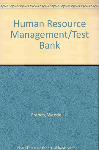 9780395370155: Human Resource Management/Test Bank