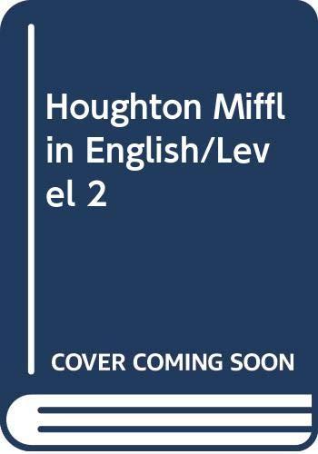 9780395375525: Houghton Mifflin English/Level 2