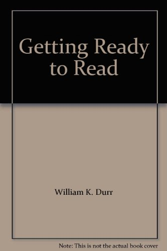 9780395376140: Getting Ready to Read