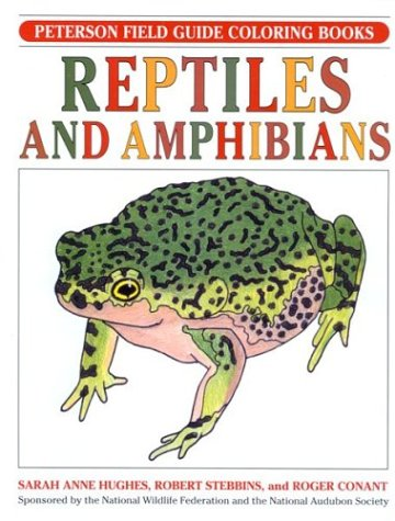 9780395377048: Field Guide to Reptiles and Amphibians: Colouring Book (Peterson Field Guides)