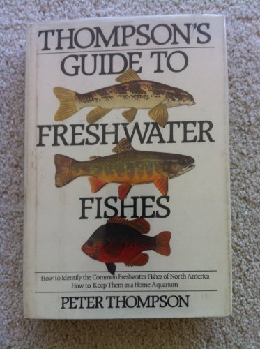 9780395378038: Thompson's Guide to Freshwater Fishes: How to Identify the Common Freshwater Fishes of North America : How to Keep Them in a Home Aquarium