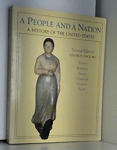 9780395379370: A People and a Nation: A History of the United States