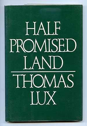 9780395382554: Half promised land