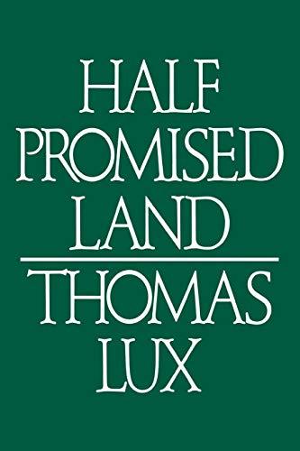 9780395382561: Half Promised Land