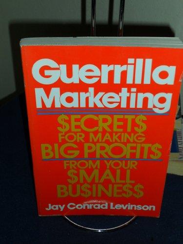 9780395383148: Guerrilla Marketing