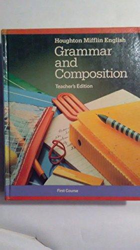 9780395385470: Grammar & Composition 1st Course Teachers Edition