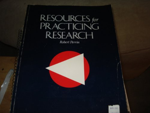 Resources for practicing research (0395390699) by Robert Perrin