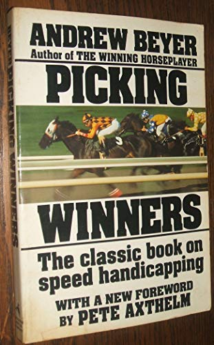 9780395393796: Picking Winners: Horseplayer's Guide