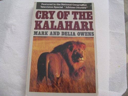 9780395394137: Cry of the Kalahari Pb