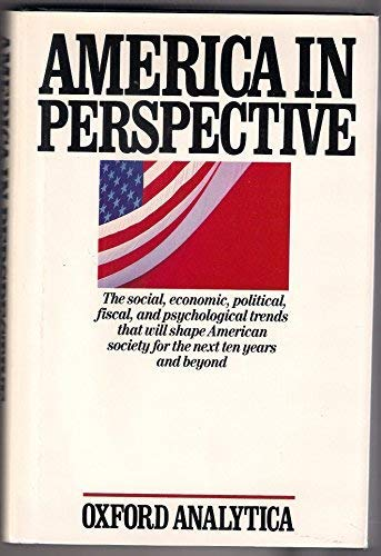 America in Perspective: Major Trends in the United States Through the 1990s