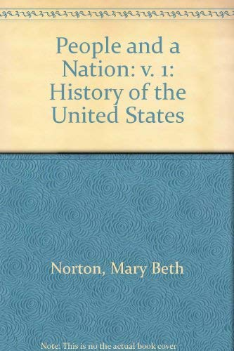 9780395400197: A People and a Nation: A History of the United States/Study Guide