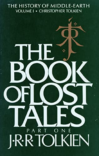 9780395409275: The Book of Lost Tales, Volume 1: Part One (History of Middle-Earth)