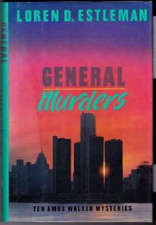 9780395410714: General Murders (The Amos Walker Series #8)