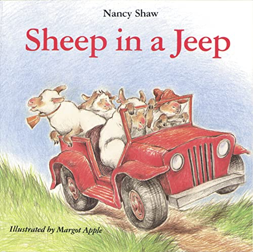 9780395411056: Sheep in a Jeep