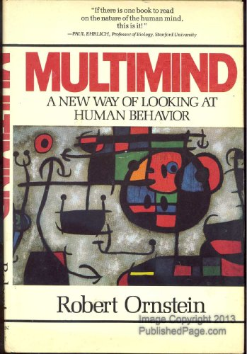 9780395411070: Multimind/a New Way of Looking at Human Behavior