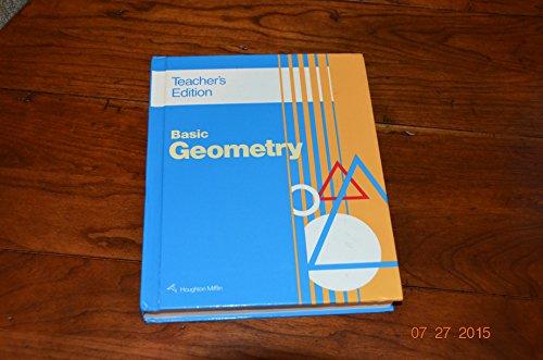 9780395411988: Basic geometry: Teacher's Edition
