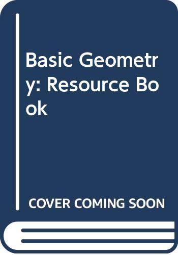 9780395411995: Basic Geometry Resource Book