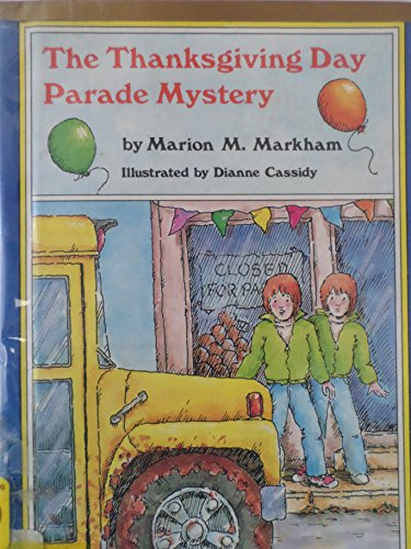 9780395418550: Thanksgiving Day Parade Mystery