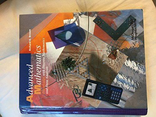 9780395421680: Advanced Mathematics: Precalculus With Discrete Mathematics and Data Analysis