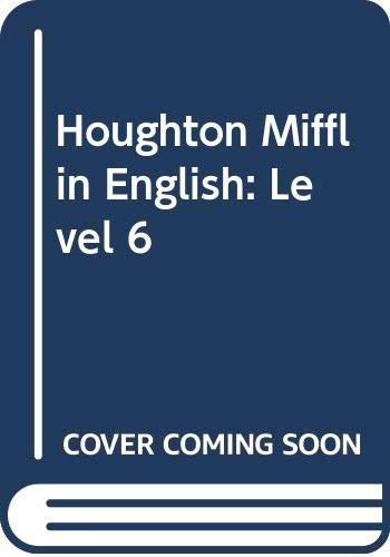 9780395421895: Houghton Mifflin English: Level 6