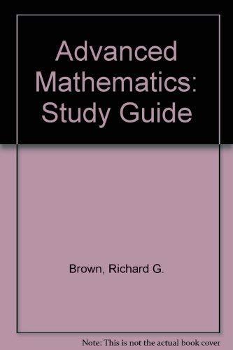 9780395423790: Advanced Mathematics: Study Guide