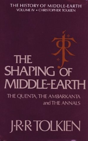 9780395425015: The Shaping of Middle-earth: The Quenta, the Ambarkanta, and the Annals, Together With the Earliest 'Silmarillion' and the First Map (History of Middle-Earth)