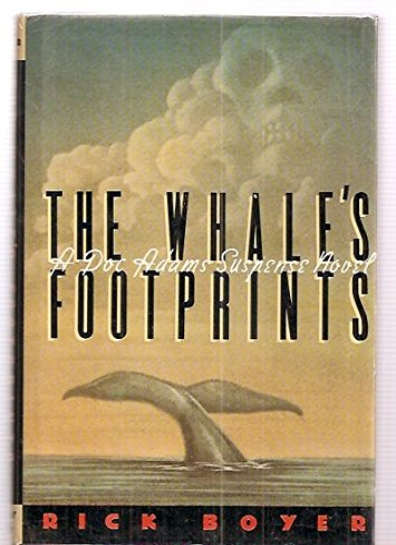 9780395427385: The Whale's Footprints: A Doc Adams Suspense Novel