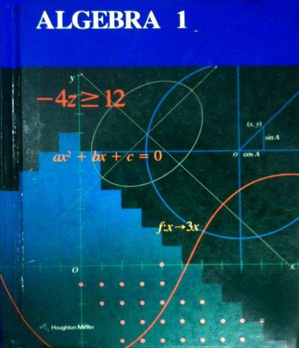 9780395430569: Algebra 1 (Students Edition)