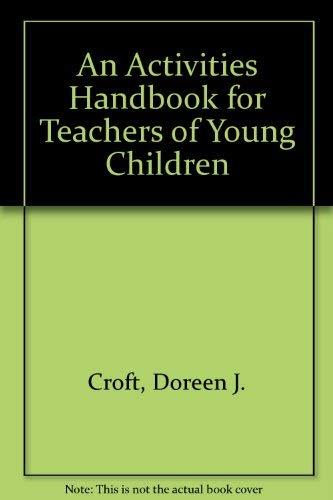 9780395432075: Activities Handbook for Teachers of Young Children