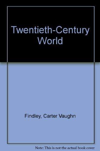 9780395432945: Twentieth-Century World