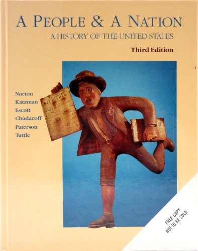 9780395433072: A People and a Nation: A History of the United States