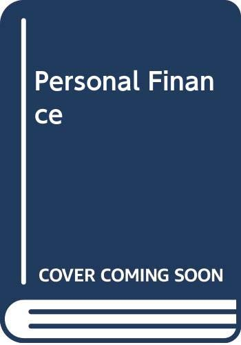 9780395433294: Personal Finance