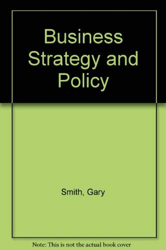 9780395433676: Business Strategy and Policy