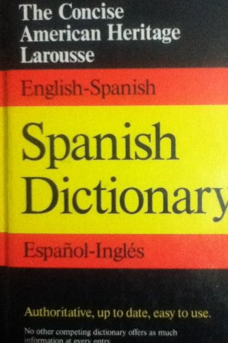 9780395434123: The American Heritage Concise Spanish/English Dictionary (Spanish Edition)