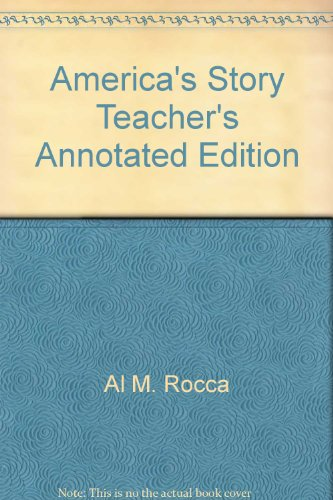 9780395435281: America's Story Teacher's Annotated Edition