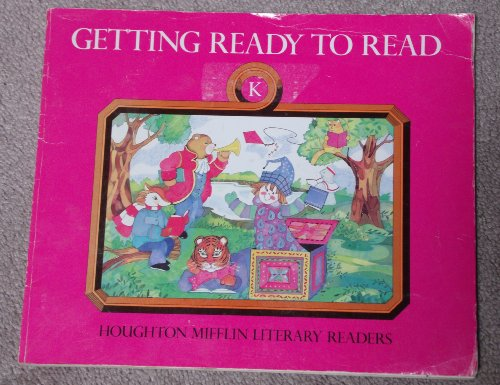 Getting Ready To Read, Level A: Teacher's Guide (1989 Copyright): Durr