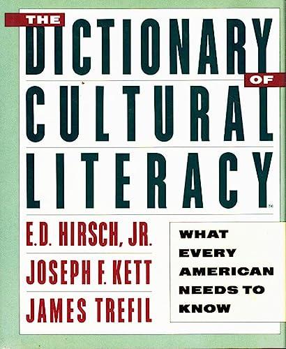 cultural literacy according to e d hirsch