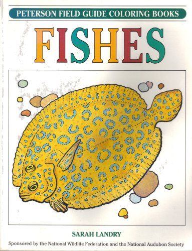 9780395440957: A Field Guide to Fishes Coloring Book (Peterson Field Guide Coloring Books)