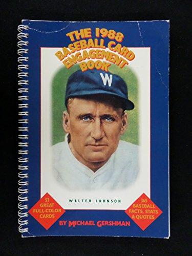 9780395441138: 1988 Baseball Card Engagement Book