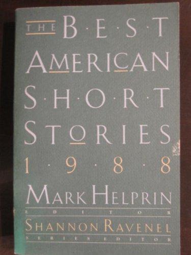 9780395442562: Best American Short Stories, 1988