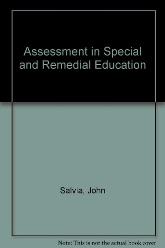 9780395447253: Assessment in Special and Remedial Education