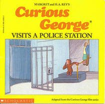 9780395453667: Curious George Visits the Police Station