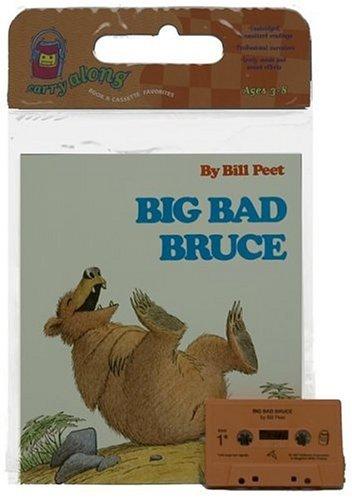 9780395457412: Big Bad Bruce Book & Cassette