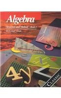 9780395461402: Algebra: Structure and Method, Book 1