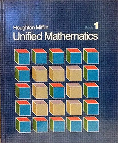 Unified Mathematics (Houghton Mifflin, 1)