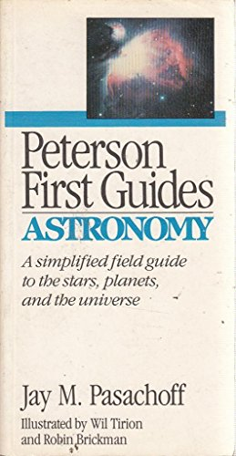 9780395467909: Astronomy (Peterson First Guide)