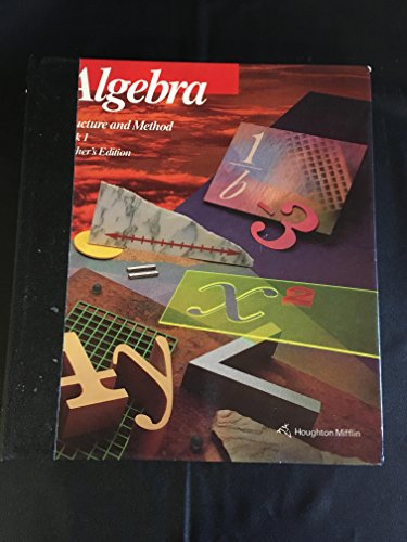 9780395470466: Algebra Structure And Method 1 (TE)